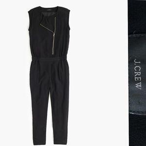 J.Crew asymmetrical zip jumpsuit